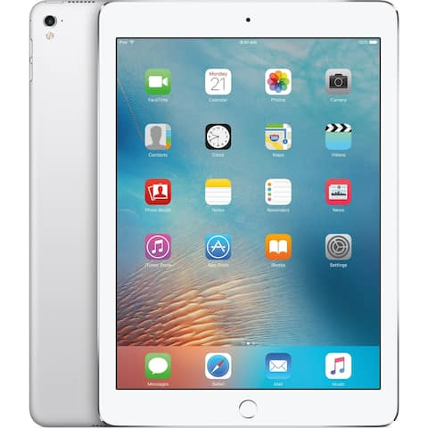 "Apple iPad Pro MLPX2LL/A 32GB Wifi Cellular 9.7"" White (Scratch and Dent)"