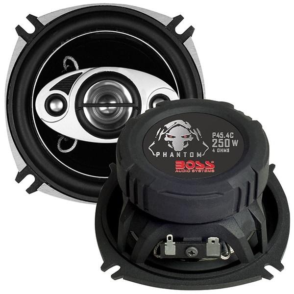 """Boss 4"""" 4-Way Speaker 250W max"""