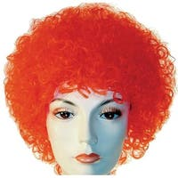 Curly Clown White Wig Costume