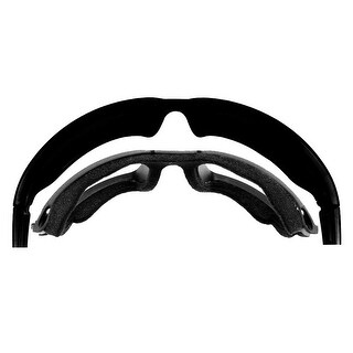 Harley-Davidson Wiley X Replacement Facial Cavity Seal, Zone Sunglasses HDZONG - Black - One size