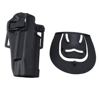 AGPtek Tactical Holster Right Hand Gun Paddle with Belt Holster for Colt 1911
