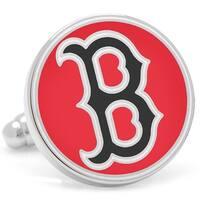 Classic Red Boston Red Sox Cufflinks