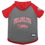 MLB Philadelphia Phillies Pet Hoodie T-Shirt