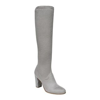 Sarto by Franco Sarto Women's Everest Tall Boot Greystone Stretch Suede Fabric