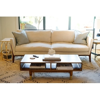 Link to Posh Pollen Diego Mid-Century Coffee Table Similar Items in Living Room Furniture