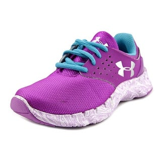 Under Armour GPS Flow RN Swrl Youth Synthetic Purple Fashion Sneakers