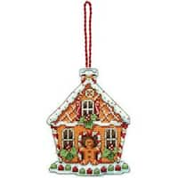 "3.25""X4.25"" 14 Count Susan Winget Gingerbread House Counted Cross Stitch Kit"