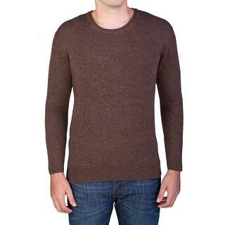 Valentino Men's Crew Neck Sweater Brown