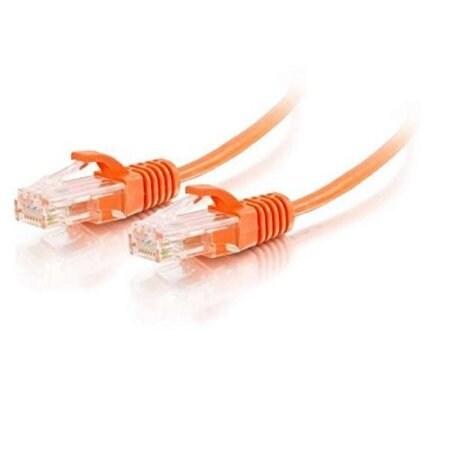 C2g - 3Ft Slim Cat6 Cable Utp Orange