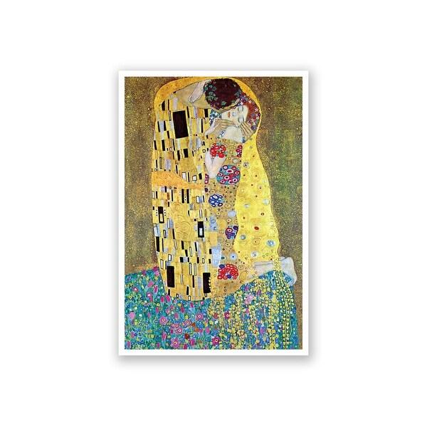 The Kiss - Gustav Klimt - Fine Art Collections - 16x24 Matte Poster Print