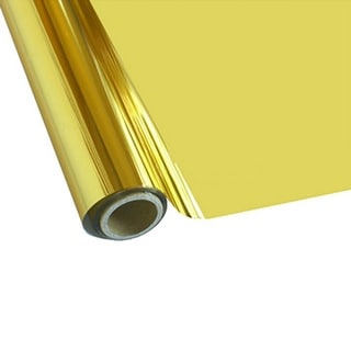 """Universal Crafts Adhesive Foil 12""""X72""""-Gold"""