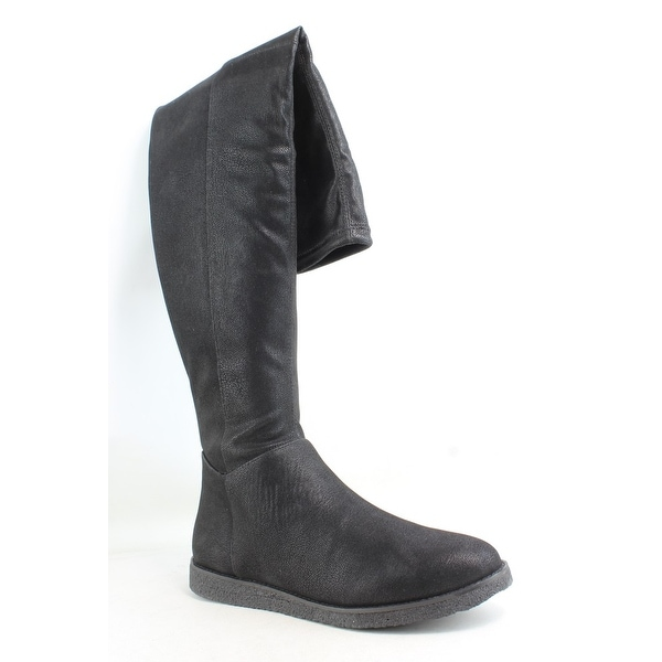 bee5d2223a7 Shop BCBG Womens Brennan Black Fashion Boots Size 8.5 - Free Shipping Today  - Overstock - 27639224