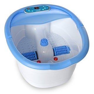 Ivation Multifunction Foot Spa  Heated Bath with Vibration, Rollers, Bubble Massage & Aromatherapy