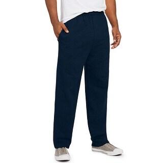 Hanes ComfortSoft EcoSmart Men's Fleece Sweatpants - Size - S - Color - Navy