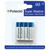 AAA Alkaline Battery, 4/Pkg