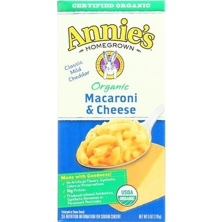 Annie's Homegrown - Classic Macaroni & Cheese ( 12 - 6 OZ)