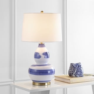 """Link to Safavieh Lighting 32-inch Aileen LED Table Lamp - 18""""x18""""x32"""" Similar Items in Table Lamps"""