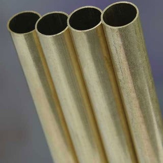 "K&S Engineering - Metal Tubing - Brass - Round - 3/8"" x 12"""