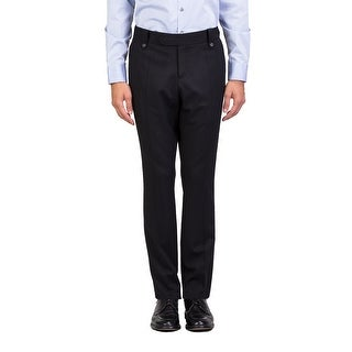 Dior Homme Men's Slim Fit Dress Trousers Pants Black - 36