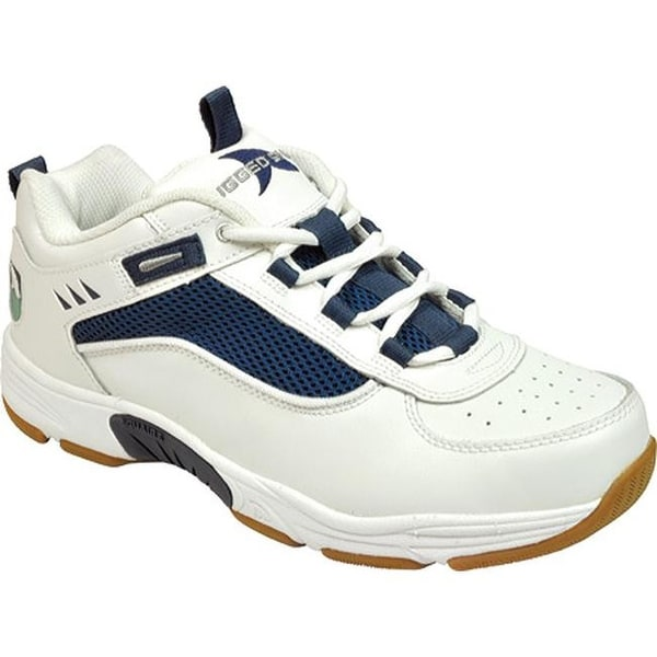 479174fa008d Shop Rugged Shark Men s Marlin 2 White Navy Leather Mesh - On Sale - Free  Shipping Today - Overstock - 22863760