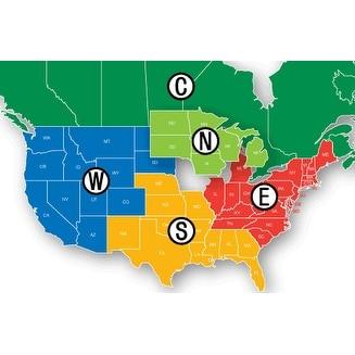Lowrance MSD/HMPT-W6 HotMaps Platinum Lake Maps - West