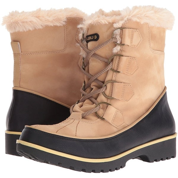 JBU Womens Mendocino Closed Toe Mid-Calf Cold Weather Boots
