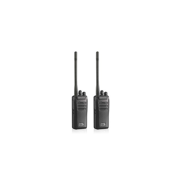 Kenwood NX-340U16P 2 Pack Two Way Radios / Walkie Talkie