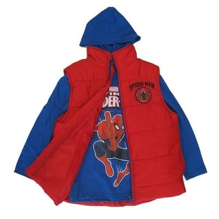 Marvel Boys Royal Blue Red Spiderman Print Hooded Shirt Puffer Vest 8-16|https://ak1.ostkcdn.com/images/products/is/images/direct/9c918c1c528384d56cba8a598ceee99609df61a1/Marvel-Boys-Royal-Blue-Red-Spiderman-Print-Hooded-Shirt-Puffer-Vest-8-16.jpg?impolicy=medium