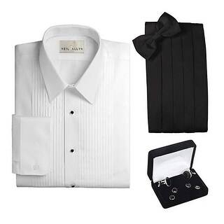 Laydown Collar Tuxedo Accessory Package