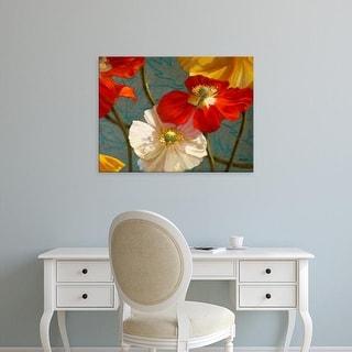 Easy Art Prints Jan McLaughlin's 'Poppycock' Premium Canvas Art