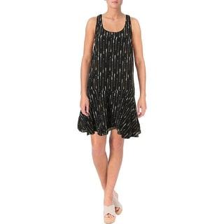Joie Womens Arianna Silk Printed Mini Dress