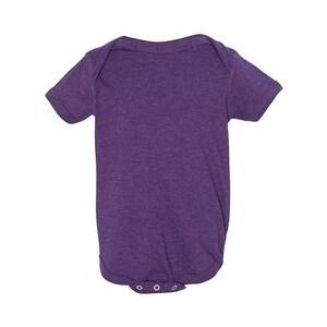 Infant Vintage Fine Jersey Bodysuit - Vintage Purple - 24M