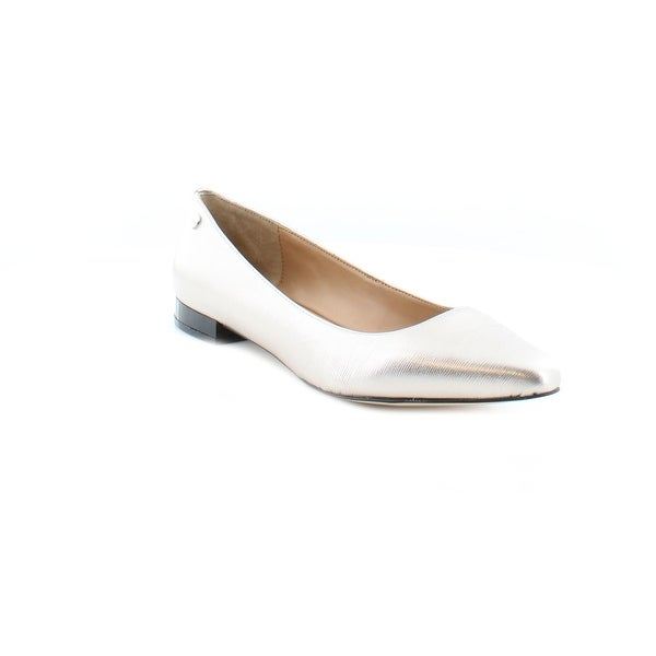 Calvin Klein Elle Women's Flats & Oxfords Soft Platinum