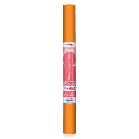 Con-tact adhesive roll orange 18 x 20 ft 20fc9a1k206