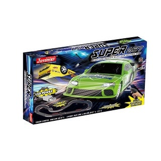 Link to JOYSWAY Super 257 USB Power Slot Car Racing set Similar Items in Toy Vehicles