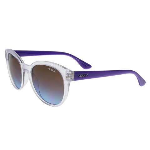Vogue VO2795/S W74548 Clear/Purple Round sunglasses Sunglasses - 53-19-140