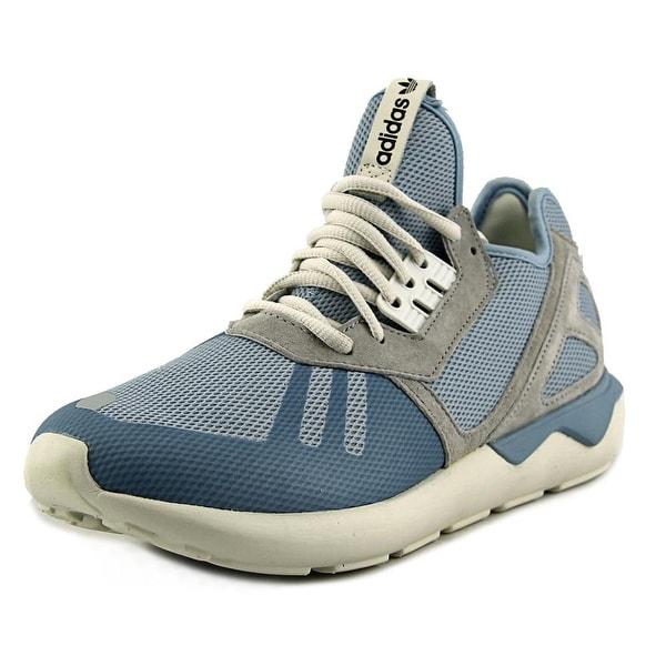 Adidas Tubular Runner K Men Round Toe Synthetic Blue Running Shoe
