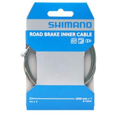Shm brake cable ss road 1.6x2050mm w/cap