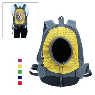 Small Dog Cat Pet Carrier Portable Outdoor Travel Tote Bag Backpack Yellow S