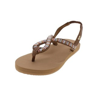 Roxy Girls Flip-Flops Beaded Thong (2 options available)