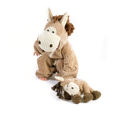Deluxe Soft Corduroy Horse Child Halloween Costume