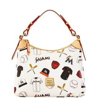 Dooney & Bourke MLB Marlins Hobo (Introduced by Dooney & Bourke at $218 in Feb 2014) - White