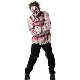 Mens Circus Psycho Clown Halloween Costume