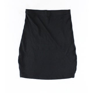 Skinny Girl NEW Solid Black Women's Size XL Slip Shapers Shapewear