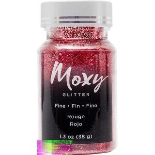 Moxy Fine Glitter 1.5Oz-Rouge