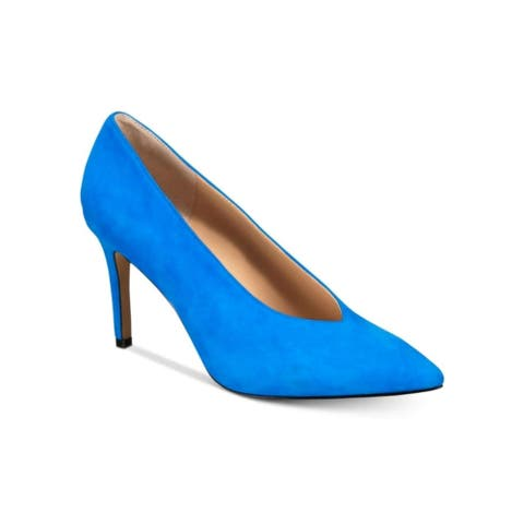 INC International Concepts Womens Ciaranl Leather Pointed Toe Classic Pumps