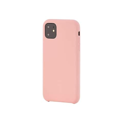 Monoprice iPhone 11 (6.1) Soft Touch Case - Pink - Protects Phone From Light Bumps And Scratches - FORM Collection