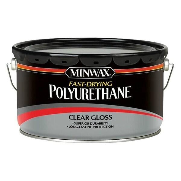 Shop Minwax 319100000 Fast Drying Polyurethane For Floor Gloss 2 5