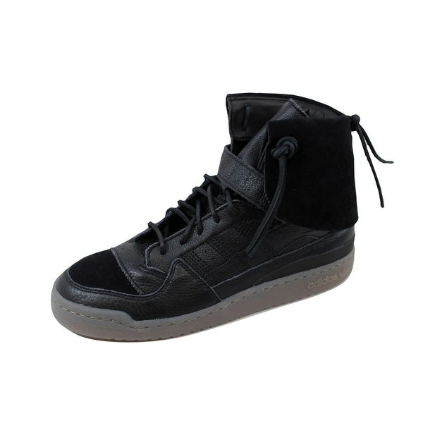 Adidas Men's Forum Hi Mocassin Black/Black-Clay B27670