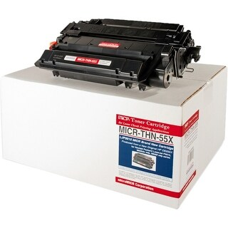 Micromicr MICR-THN-55X Micromicr MICR Toner Cartridge - Black - Laser - 12500 Page - 1 Each